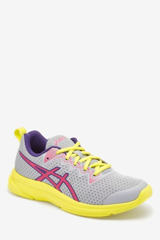 lässige Schuhe gute Qualität Qualität Asics Henka GS Lace Trainers