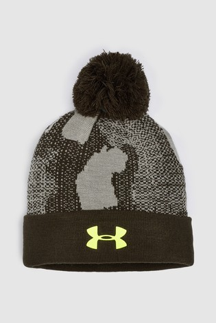 3a90ca31d46 Buy Under Armour Green Boy Pom Beanie from the Next UK online shop