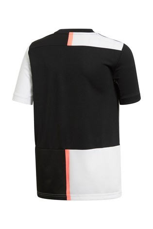 new york 7f308 022df adidas Youth Black/White Juventus FC 19/20 Home Jersey Top