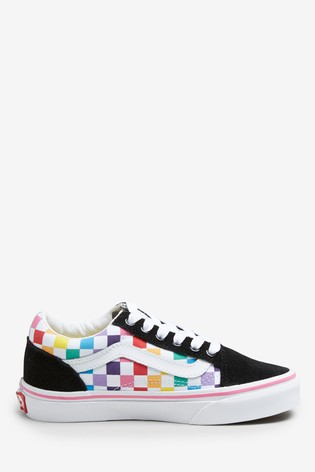 hot sale online super cheap compares to running shoes Vans Old Skool Youth Trainers