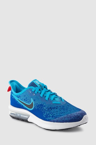 a68b4e8889 Buy Nike Blue Air Max Sequent 4 Youth from the Next UK online shop