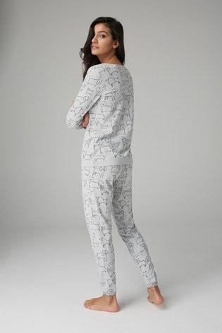 Grey Dog Print Pyjamas · Grey Dog Print Pyjamas ... c51e6b435