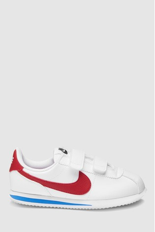 013624ba43 Buy Nike White/Red Cortez Junior from the Next UK online shop