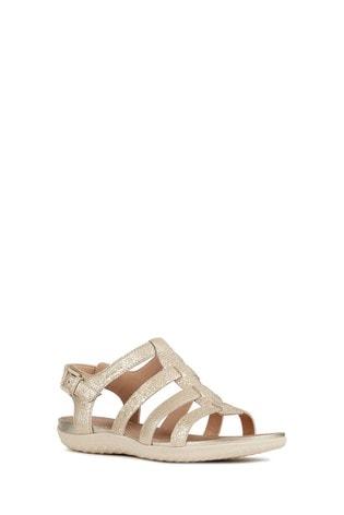 6c45dc9e4e0927 Buy Geox Gold D Vega Sandal from the Next UK online shop