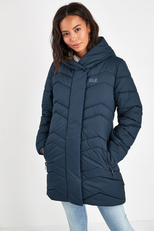 Jack Wolfskin 'Kyoto' Thick Padded Quilted Jacket