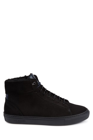 8f3c9227f683e Buy Ted Baker Black Thonel Hi Top Trainer from Next Pakistan