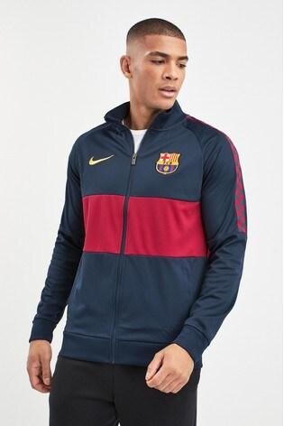 2024aa5e4 Buy Nike Navy FC Barcelona Jacket from the Next UK online shop