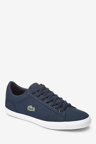 a400ef90c Buy Lacoste® Lerond Canvas Trainer from the Next UK online shop
