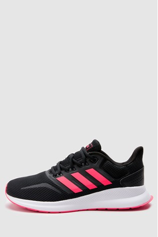 Buy Adidas Run Black Pink Falcon Trainers From Next Ireland