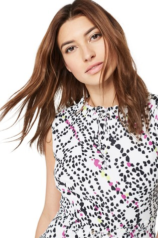 2b7701e268328e Buy Damsel In A Dress Multi Marin Animal Print Dress from the Next ...