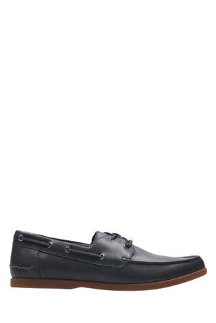 best website discount price good out x Clarks Navy Morven Sail Shoe