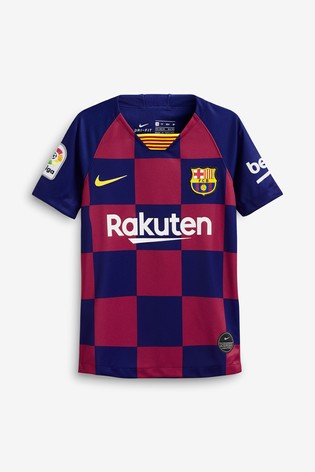 Nike Youth Navy FC Barcelona 20192020 Home Jersey