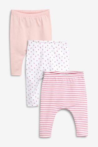 Buy Strawberry Leggings Three Pack (0 mois - 2 ans) from Next Luxembourg 8bb1a66b7e7