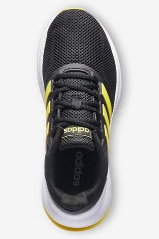 pretty nice 40ae7 1b08c ... Black adidas Run Falcon Junior   Youth ...
