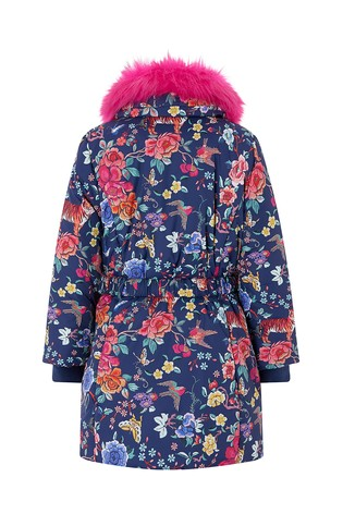 5d0505044cc3 Buy Monsoon Navy Katsuko Padded Coat from the Next UK online shop