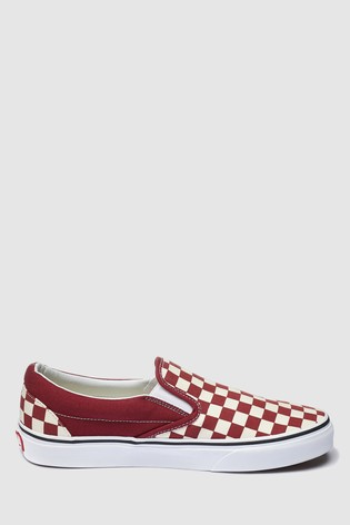 42e01835d378 Buy Vans Check Slip-On Trainer from Next Cyprus
