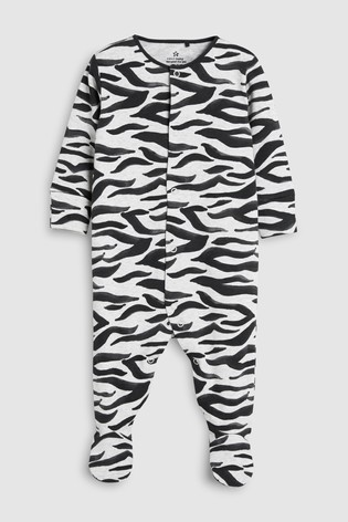 cf1114f9e Buy Animal Character Print Sleepsuits Three Pack (0mths-2yrs) from ...