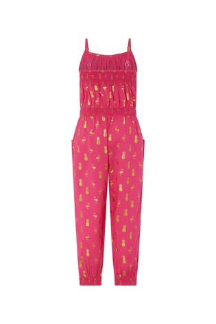 9a236a945156 Buy Monsoon Bright Pink Faye Jumpsuit from the Next UK online shop