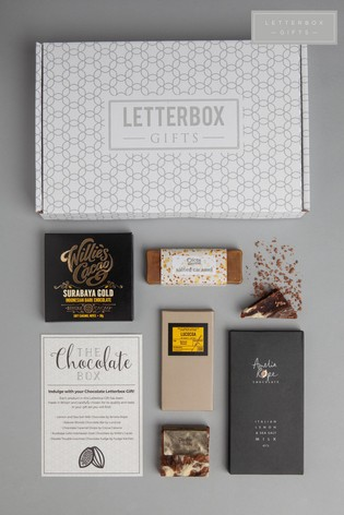 Personalised Chocolate Gift Set by Letterbox Gifts ...