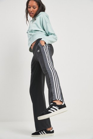 Buy adidas Originals Black Stripe Track Pant from Next