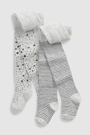 dad49a1728d20 Buy Star And Stripe Tights Two Pack (Younger) from Next Kuwait