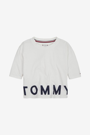 brand new super quality fresh styles Tommy Hilfiger Girls Sport Cropped T-Shirt
