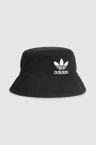 Buy adidas Originals Kids Black Bucket Hat from the Next UK online shop 144e130cdfb