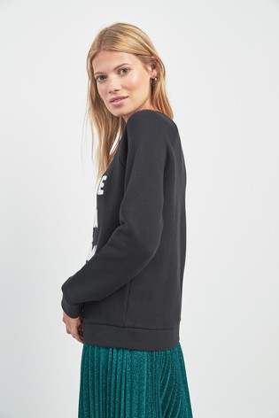 d57be250c Buy Whistles Black Creme De La Creme Jumper from Next Ireland