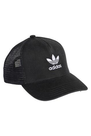 a9a8452cc Buy adidas Originals Black Trefoil Trucker Hat from Next Slovakia