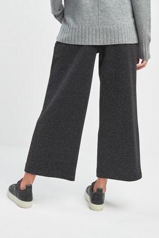 6d4d813e9027b Buy Whistles Black Ponte Wide Leg Trouser from Next USA
