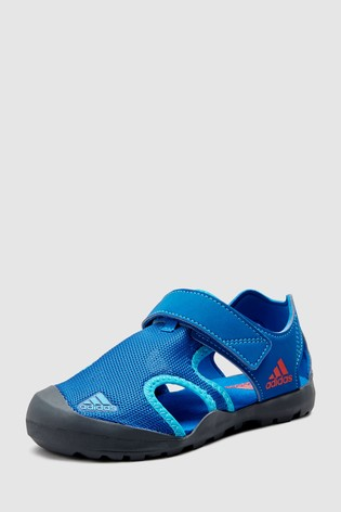 Adidas Junioramp; Sandals Captain Toey Youth Blue WEDeH92YI