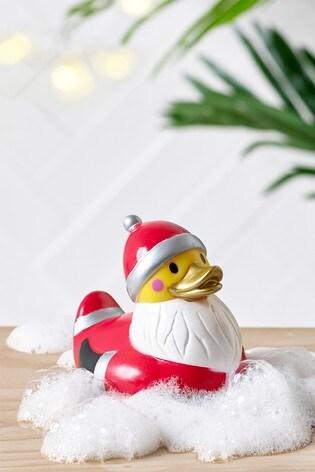 Christmas Duck.Santa Rubber Duck