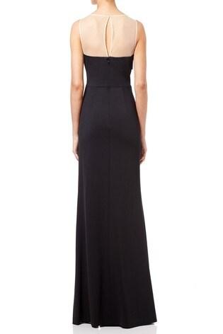 f6ac28f44c0fa9 Buy Adrianna Papell Black Lola Jersey Long Dress from Next Ireland