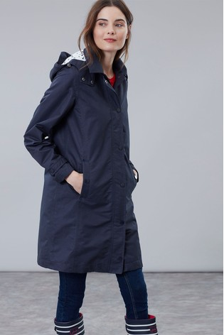 low priced 5d4af 8b5b5 Joules Headland A-Line Raincoat With Removable Hood