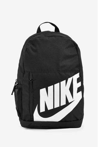 nice cheap finest selection detailed images Nike Black Personalised Elemental Backpack