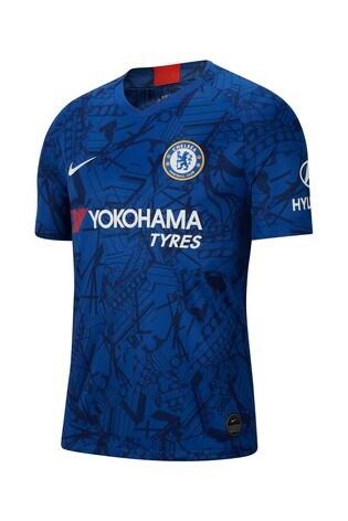 official photos 46e2c 7cc93 Nike Blue Chelsea Football Club 2019/20 Jersey