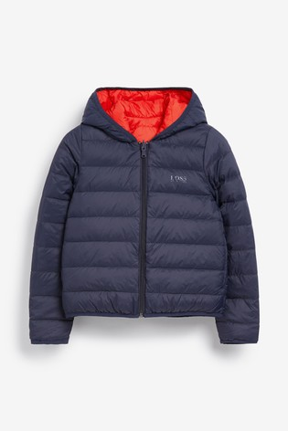 competitive price sleek buy popular Buy BOSS by Hugo Boss Padded Reversible Jacket from the Next ...