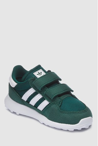 finest selection 20783 89c74 Green adidas Originals Forest Grove Infant ...