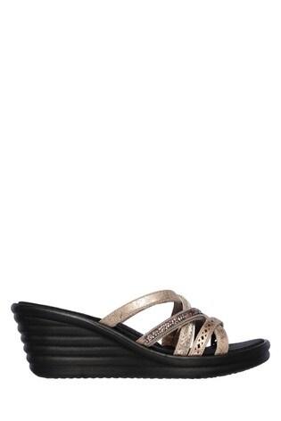 abd2c087 Buy Skechers® Black Rumbler Wave New Lassie Sandal from the Next UK ...