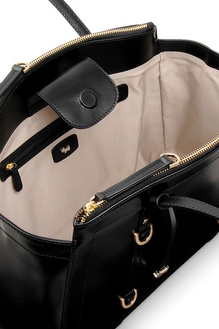 Buy Radley Black Shoulder Compartment Large Tote from the Next UK ... 1314ec3c5c836