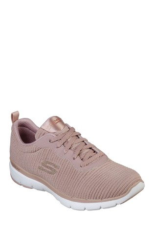 b33a21e9a9c Buy Skechers® Pink Flex Appeal 3.0 Glam Trainer from the Next UK ...