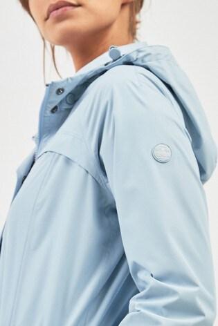 58a9e63a339 Barbour® Pale Blue Waterproof Lighweight Parka Jacket