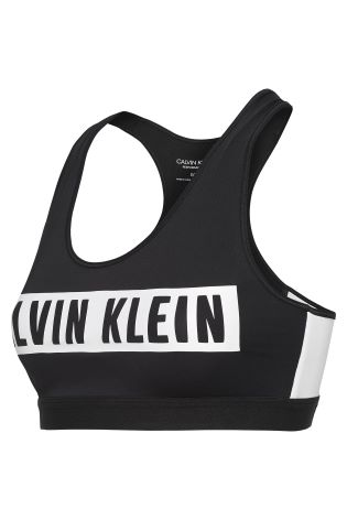 22bd7e41180 Buy Calvin Klein Performance Black High Support Sports Bra from Next Ireland