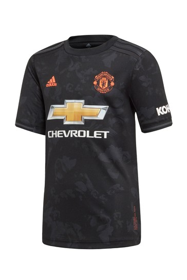 Adidas Black Manchester United 2019 2020 3rd Jersey