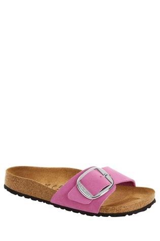 Birkenstock® Pink Big Buckle Sandals