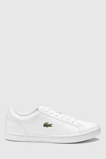 2d00b7a1b9123 Buy Lacoste® Straight Set Trainer from the Next UK online shop