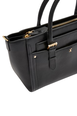 Buy Joules Black Hathaway Mini Leather Everyday Bag from the Next UK ... c59bb8b29bf24