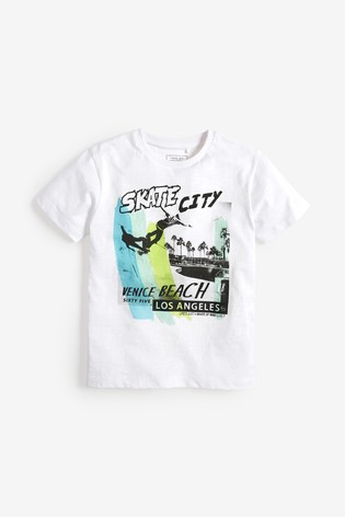 8fa4fa2d Buy Skate Graphic T-Shirt (3-16yrs) from the Next UK online shop
