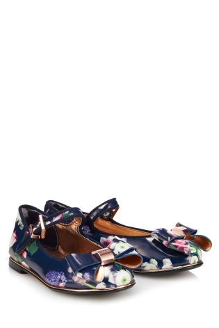 ebab0391b05aa5 Buy Baker by Ted Baker Blue Kensington Print Pump from Next Taiwan