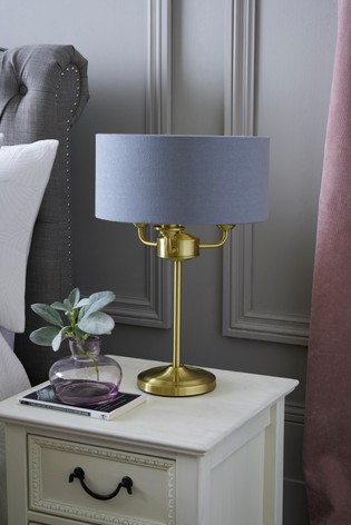 Buy Burford 3 Light Table Lamp From The Next Uk Online Shop